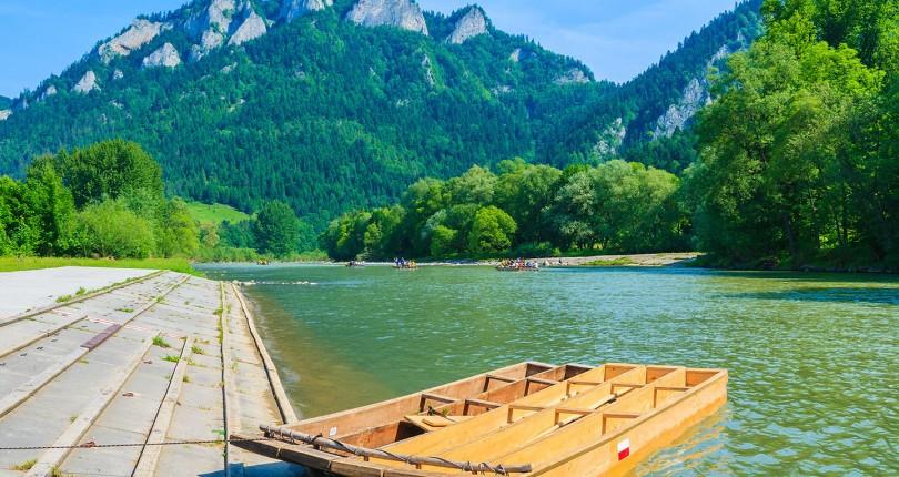 Dunajec – splav na pltiach